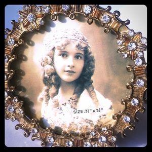 Other - Jeweled Picture Frame